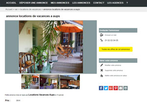 creation site d'annonce immobilier